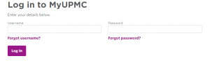 UPMC HealthTrak Login
