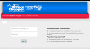 Price Chopper Direct Connect Login